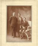 Clément Julien avec ses parents